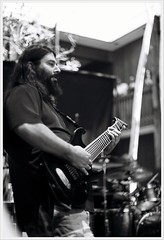 Deftones (Cru Jones+) Tags: summer white black records film analog brothers guitar live july 8 warner string burbank analogue bros deftones stef sessions 2012 chino