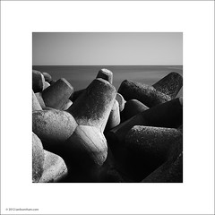Concrete Breakwater (Ian Bramham) Tags: bw concrete photo amalfi breakwater dolos dolosse ianbramham ericmowbraymerrifield aubreykruger