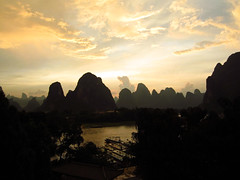 Li River at sunset, Xingping (peterrioIve) Tags: liriver  xingping