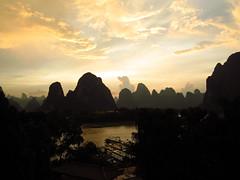 Li River at sunset, Xingping (peterrioIve) Tags: liriver  xingping