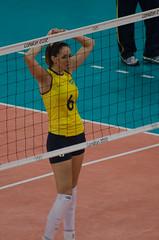 DSC_7060 (ferhat_culfaz) Tags: usa london yellow turkey unitedstates volleyball olympics earlscourt 2012 thaisamenezes