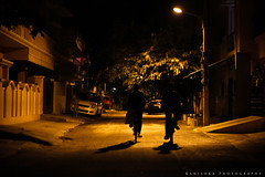 story of DARK SHADOWS. (Kanishka **) Tags: shadow night canon dark photography shot bangalore experiment cycle darkshadows kanishka