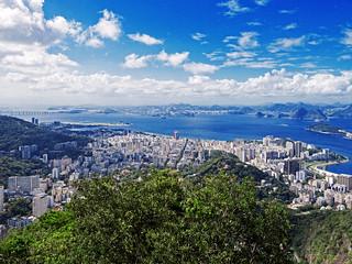 Laranjeiras, Flamengo, Botafogo, Catete, Glória and Downtown Districts... Rio de Janeiro