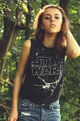 . (breetty) Tags: portrait girl self star pretty hipster wars selfie
