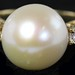 4030. Pearl and Diamond Ring