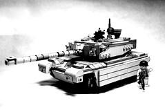 LEGO Abrams (MegaSpaceFighter) Tags: new trooper car modern truck star cool lego wars tor custom base solider cline shatele