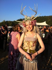 Faerie Worlds 2012, Eugene, Oregon (AlpineDaisy) Tags: from mt view you photos or antlers fairy epoxy everyone resin festivalx dancex fantasyx costumex creativex oregonx eugenex worldsx faeriex pisgahx