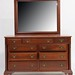83. Willett Chest of Drawers with Mirror