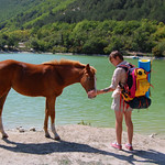 "Young Woman and The Horse<a href=""http://www.flickr.com/photos/28211982@N07/7875326702/"" target=""_blank"">View on Flickr</a>"
