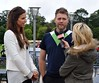 Brian McFadden and Vogue Williams The 13th Marie Keating Foundation - Celebrity Golf Classic at the K-Club Kildare, Ireland