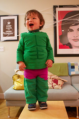 The Hud as THE HULK! (toddkloots) Tags: baby cute costume superhero hulk marvel thehulk