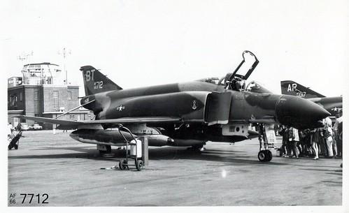 36th TFW  McDonnell F-4D Phantom II 66-7712