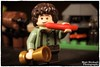 Sausage anyone? (Hellbelly) Tags: toy lego lordoftherings hobbit frodobaggins canong12
