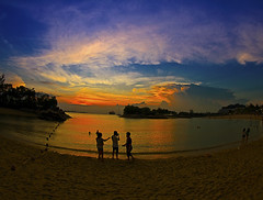 Sunset at Siloso Beach - Singapore (Sharky's) Tags: park nightphotography travel sunset panorama cloud travelling tourism beach nature beautiful night danger sunrise landscape asian nice singapore asia flickr nightimages nightshot landmarks dragons tourist nightlight estrellas nightscene dslr sentosa silhoutte hdr touristattraction singapura singaporeriver siloso integratedresort icapture inyoureyes toursim silosobeach nicesunset faboulous flickraward flickrdiamond eliteimages sunsetmania theperfectphotographer goldstaraward flickrestrellas heworldbestportraits thebestofhdr dragonsdanger flickrtravelaward