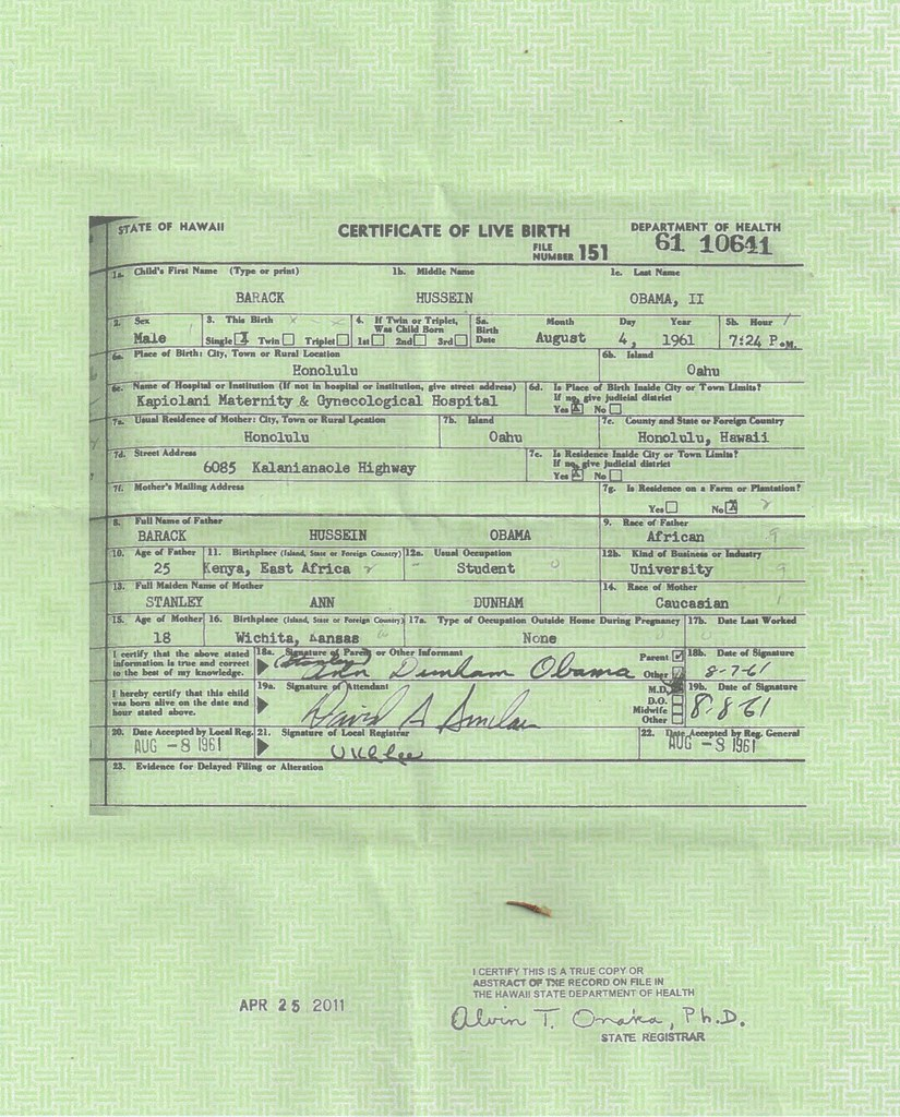 The worlds best photos of birth and certificate flickr hive mind obamas birth certificate susan j 2000 tags birth certificate obamas 1betcityfo Gallery