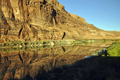 Moab, UT (imageseekertoo (Wendy Elliott)) Tags: reflection river coloradoriver moab moabutah hwy128moabut mountainsreflectedinwater