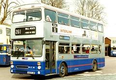 3120 (HL) G120 FJW (WMT2944) Tags: travel west midlands metrobus 3120 mcw g120 fjw mk2a