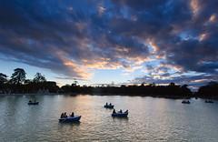 Retiro 13 (ignacio izquierdo) Tags: madrid park parque autumn sunsets otoo octubre atardeceres retiro