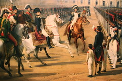 Inspecting the troops (Verte Ruelle) Tags: france art painting stpetersburg russia napoleon hermitage