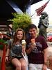 Ice Cream Patriots (tab2space) Tags: arizona art statue sedona icecream