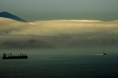 HONG KONG (BoazImages) Tags: storm nature landscape hongkong scenery asia ship cloudy stormy channel boazimages eastlamma