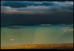 Rayos en la meseta chubutense