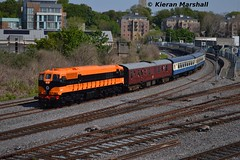 071 passes Islandbridge Jn, 13/5/16 (hurricanemk1c) Tags: dublin irish train gm rail railway trains railways irishrail generalmotors supertrain heuston 2016 emd 071 iarnród éireann rpsi iarnródéireann retrotrain retrolivery islandbridgejunction 1035connollywaterford 07140thanniversary