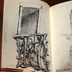 medieval #stone #pulpit and #mysterious #high... (AndersonAndersonArchitecture) Tags: old stone architecture pencil one high darkness grandfather stonecarving sketchbook medieval doorway listening maybe latin mysterious these drawn mass avignon making pulpit graphite chisels hammers stonecarver uploaded:by=flickstagram instagram:photo=10218462475990651251287363409