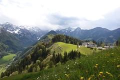 Kamnik-Savinja Alps near Solcava (sigi-sunshine) Tags: mountains berge slovenia valley harmony tal harmonie panoramastrasse logarskadolina slownien robanovkot panoramastrase logartal matkovkot solcava