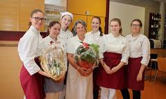 4BHW Gruppe1 bedankt sich bei OSR Renate Gutzelnig