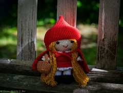 Rotkppchen_Little Red Riding Hood (Thema hkeln_Boe) Tags: doll crochet littleredridinghood amigurumi puppe selbstgemacht madebyhand hkeln rotkppchen