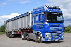 SV16HGO  WJ & J Green, Corskie (highlandreiver) Tags: green truck wagon j scotland transport scottish lorry cumbria and carlisle wj hgo bulk daf morayshire haulage garmouth sv16 corskie sv16hgo