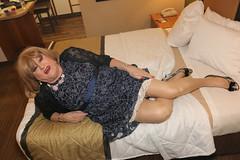 new123780-IMG_0078t (Misscherieamor) Tags: tv transformation feminine cd femme motel tgirl transgender mature sissy tranny transvestite crossdress ts gurl tg travestis prettydress travesti travestido travestie m2f onbed xdresser tgurl traviesa travestito slipshowing travestit transwoman lacejacket