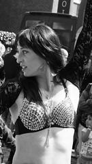 belly dancer 08 (byronv2) Tags: street summer woman sunlight sexy girl sunshine scotland canal dance costume breasts shiny edinburgh erotic dancing boobs candid bra bellydancer sunny dancer sensual bikini cleavage sparkly bellydancing peoplewatching tollcross unioncanal edimbourg fountainbridge lochrinbasin canalfestival canalfestival2016