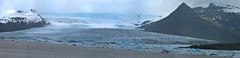 The Vatnajkull's tongue Fjallsjkull (joxeankoret) Tags: panorama mountain mountains ice tongue iceland pano panoramic glacier glaciar vatnajokull glacial ablation fjallsjkull