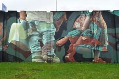 Graffiti mural by Telmo Miel (Ben den Hartog) Tags: urban holland art dutch graffiti rotterdam mural nederland murals eindhoven arena urbanart step netherland miel graffitiart telmo muurschildering berenkuil straatkunst stepinthearena graffitimural urbanwall