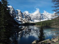 Moraine Lake (RS_1978) Tags: berge kanada wald olympusem5ii gewsser see acqua eau forest fort lac lago lake montagnes mountains wasser water   banffnationalpark alberta ca landschaft natur