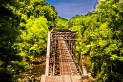 Ilchester (6-11-16)-026 (nickatkins) Tags: longexposure railroad bridge sky water graffiti bridges rail tunnel bluesky ironbridge rails railroads