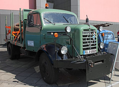 Borgward log truck (The Rubberbandman) Tags: world auto b white classic beauty truck vintage germany log outdoor timber transport over engine logging meeting goods b4500 lorry fabric cover german transportation vehicle bremen freight motorshow fahrzeug flatbed lastwagen 4500 borgward lkw laster