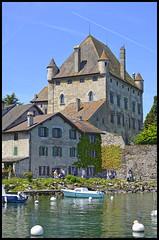 Le Chteau d'Yvoire (wilphid) Tags: lac bateau lman hautesavoie yvoire chablais