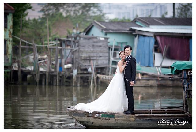 {香港婚紗} Denny & Adelina 婚紗側拍