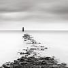 North Bull Lighthouse (MaggyMorrissey) Tags: ireland dublin lighthouse wall port island bay north bull beacon clontarf