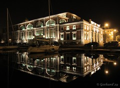 Triest by night reflection (tobejolly29) Tags: italien light sea italy reflection night canon landscape see licht italia mare sailing nacht krnten carinthia bynight lonelyplanet riflessi spiegelung notte luce fvg paesaggio trieste stimmung adria nationalgeographic regata triest sailingrace spiegelungen travelphotography sailrace friuliveneziagiulia coth regate supershot imbarcazioni stimmungen 60d abigfave friauljulischvenetien citrit officialnationalgeographicgroup coth5