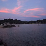 "Sunset over Chalok Baan Kao Bay <a style=""margin-left:10px; font-size:0.8em;"" href=""http://www.flickr.com/photos/14315427@N00/6887889638/"" target=""_blank"">@flickr</a>"