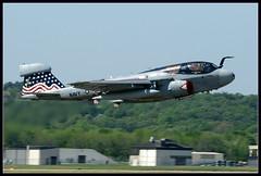 VAQ-140 Patriots (Crawford322) Tags: airport fort aircraft aviation military navy jet smith arkansas usnavy a6 grumman planespotting ea6b ea6 a2f vaq140patriots grummanea6bprowler electonicwarfare a2f2h