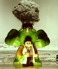 The Incredible Hulk (Legoagogo) Tags: england lego minifigs hulk avengers chichester incrediblehulk avenger moc afol brucebanner legoagogo