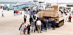 Andrews Display Abrams Tank (Beechwood Photography) Tags: andrewsairforcebase andrewsafb andrewsafbairshow andrewsafbairshow2000