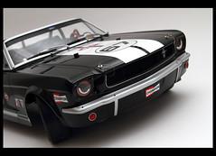 Ford Mustang 350 gt Convertible (chicco_u) Tags: show black ford car model body convertible racing 350 mustang tamiya gt rc drift hpi tt01 gopro toridrift