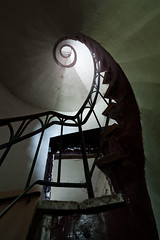 9 (maxelmann) Tags: old urban abandoned stairs germany lost stair alt snail 9 sigma stairway explore forgotten urbanexploration 12mm schnecke tristesse 1224 verlassen stufen urbex marode vergessen treppengelnder lostplaces leerstand treppenstufen sigma1224mmf4556exdghsm xplr maxelmann urbexjunkies