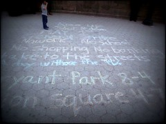 """May 1st - A Day without the 99%"" (t_a_i_s) Tags: street nyc unionsquare may1st"